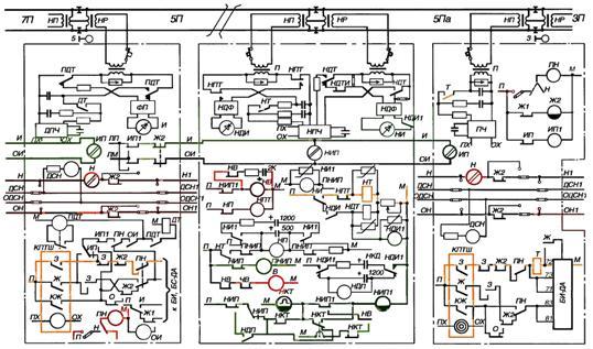 Структурная схема блоков