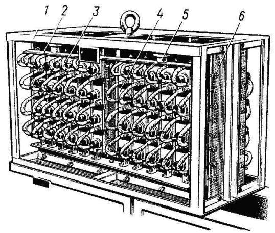 установка электровоза ВЛ80