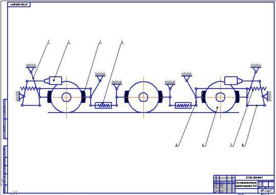 Схема ТРП тепловоза ЧМЭ3