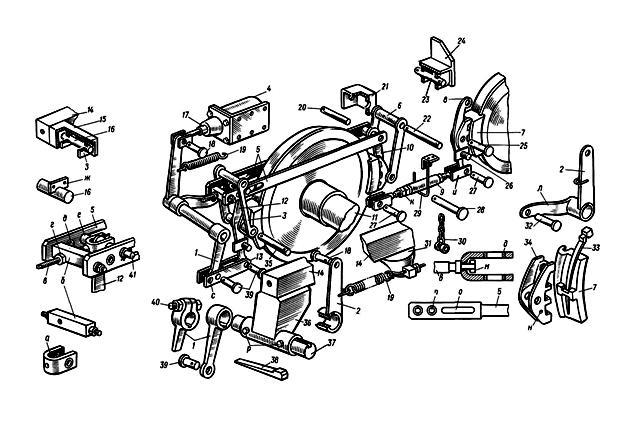 Устройство и ремонт тормозной