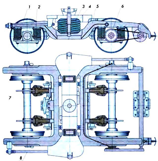 Тележка модели 68-4072