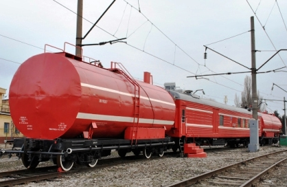 пожарный поезд