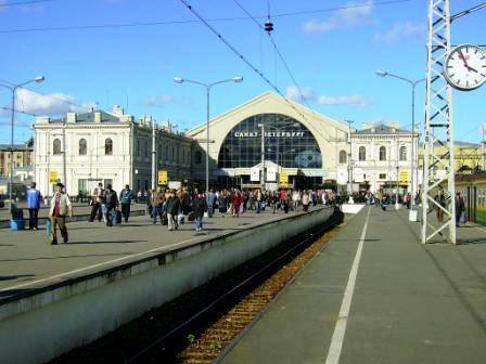 пассажирская платформа