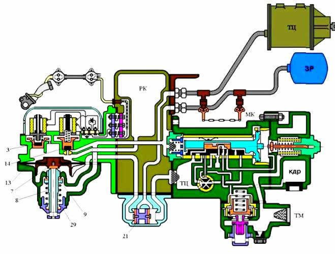 Схема работы ВР № 305